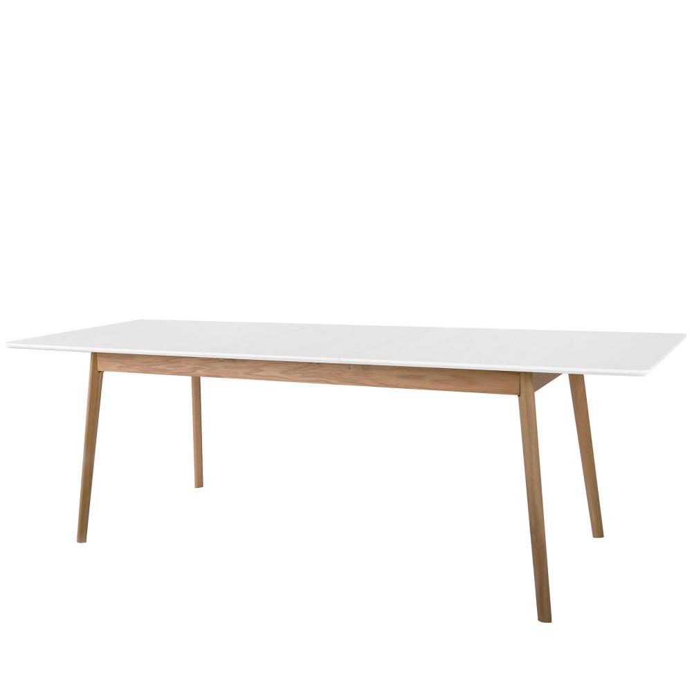 table manger extensible 180 230x80cm skoll drawer. Black Bedroom Furniture Sets. Home Design Ideas