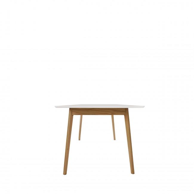 Table à manger extensible 180-230x80cm Skoll