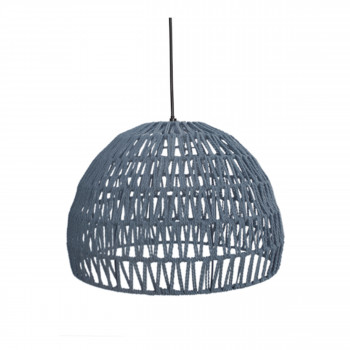 Suspension coton L Rope Gris