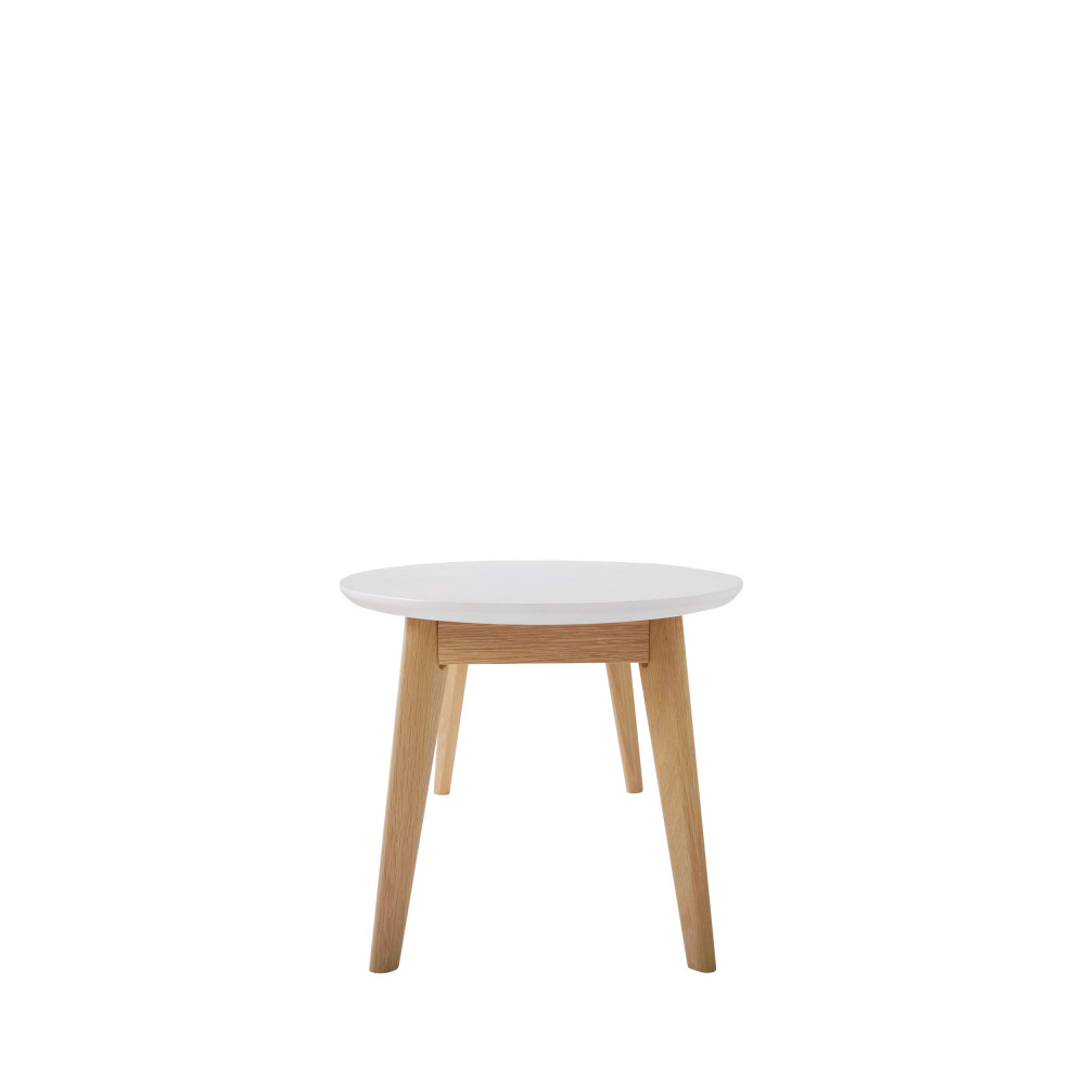 Table basse scandinave ovale skoll by drawer for Architecture scandinave