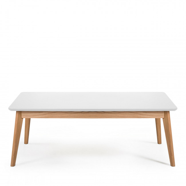 Table basse design scandinave 110x50cm Skoll