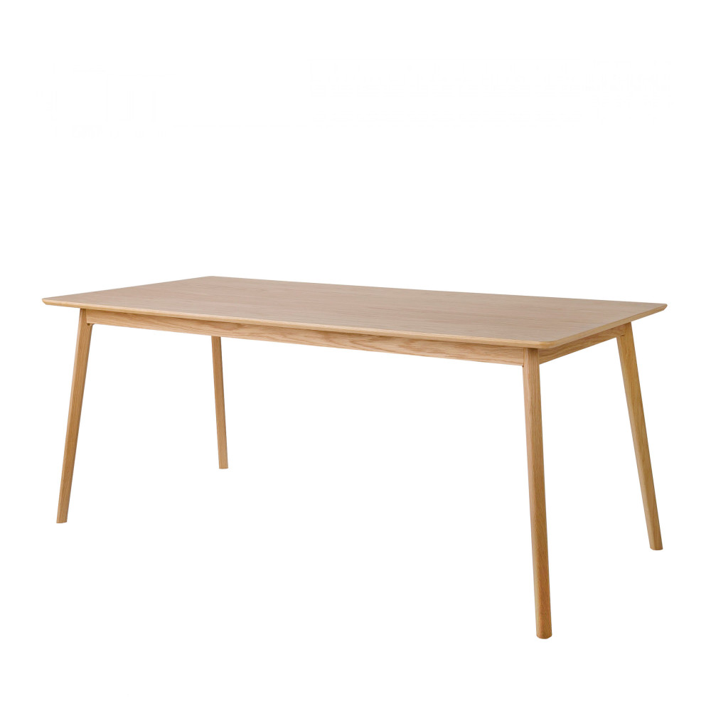 Table manger scandinave en bois skoll by drawer for Table bois clair scandinave