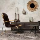 Suspension design béton & bois Carafe