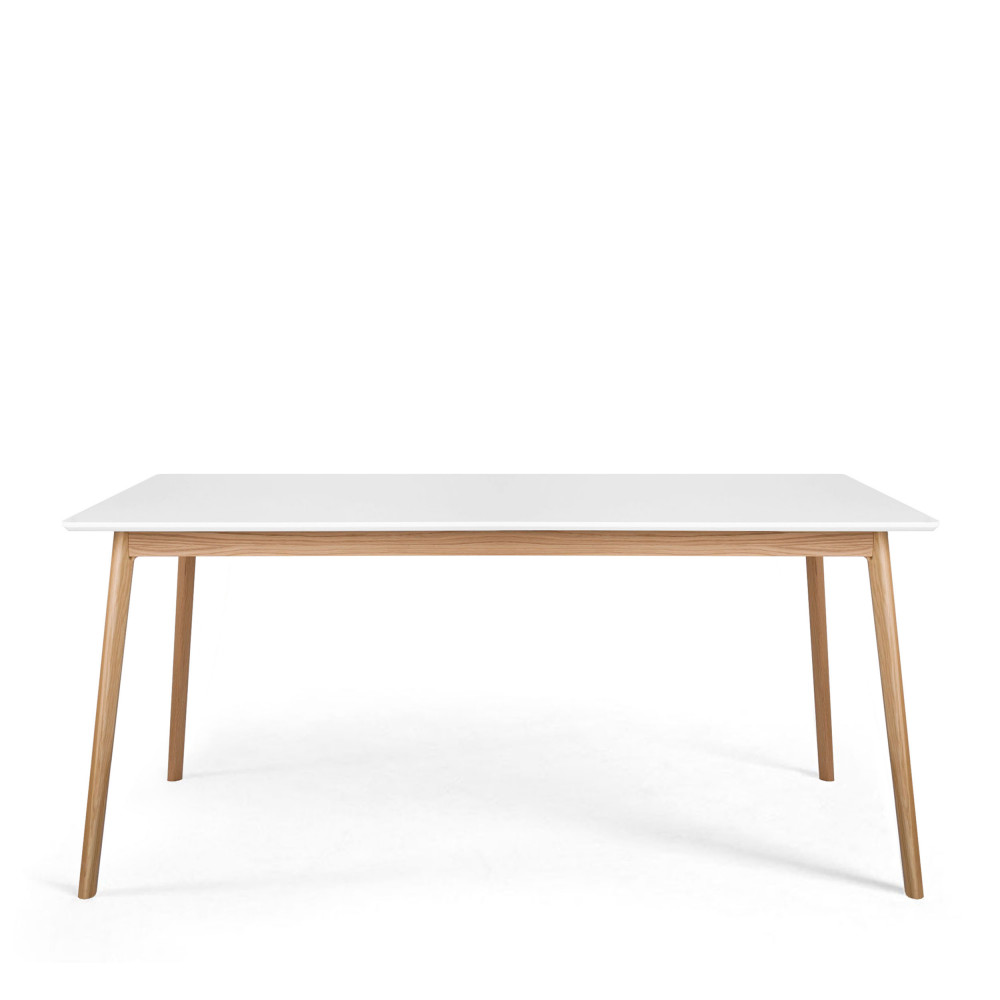 Table manger scandinave en bois skoll by drawer for Table manger bois