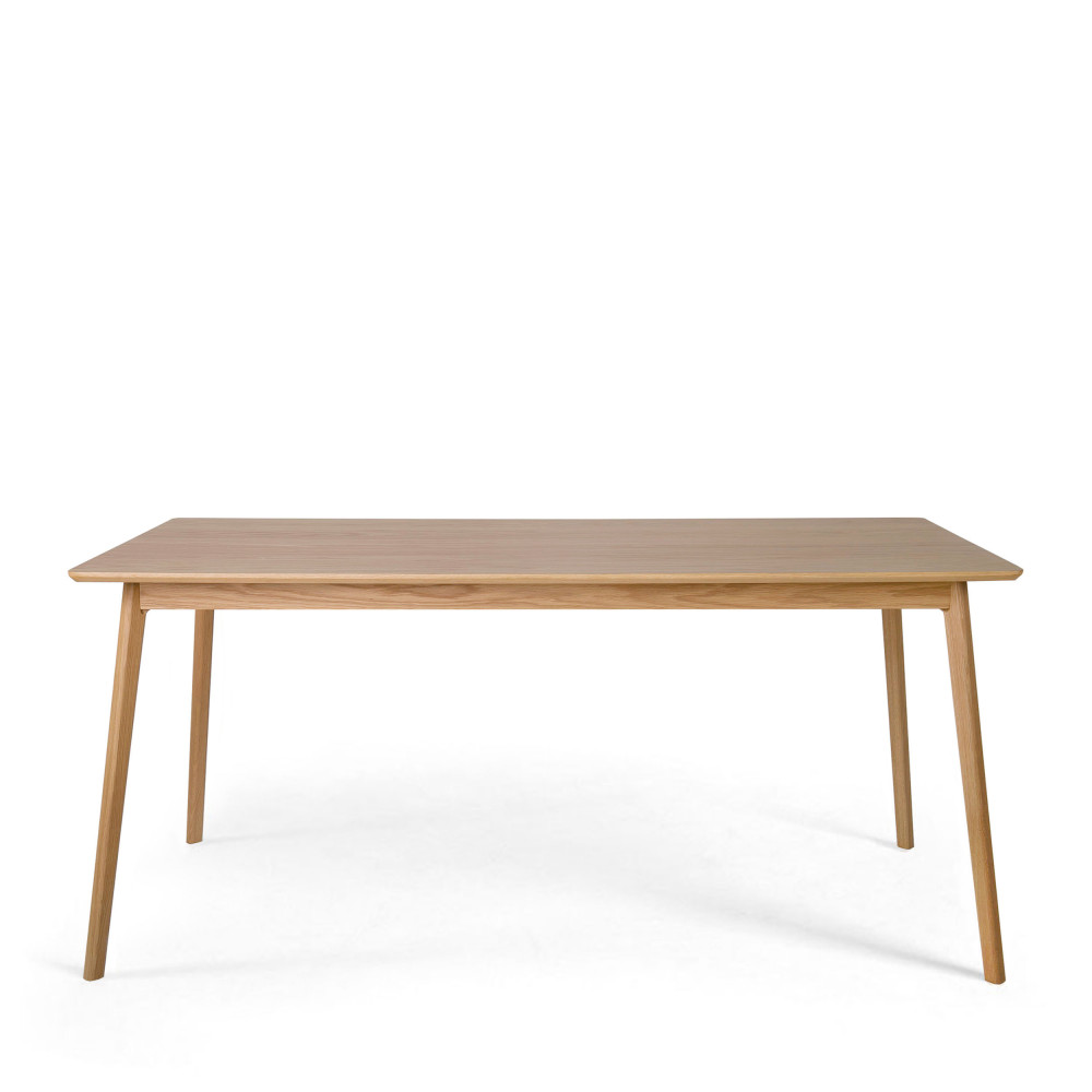 Table manger scandinave en bois skoll by drawer for Table rectangulaire scandinave