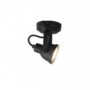 Applique/plafonnier métal WUK Noir
