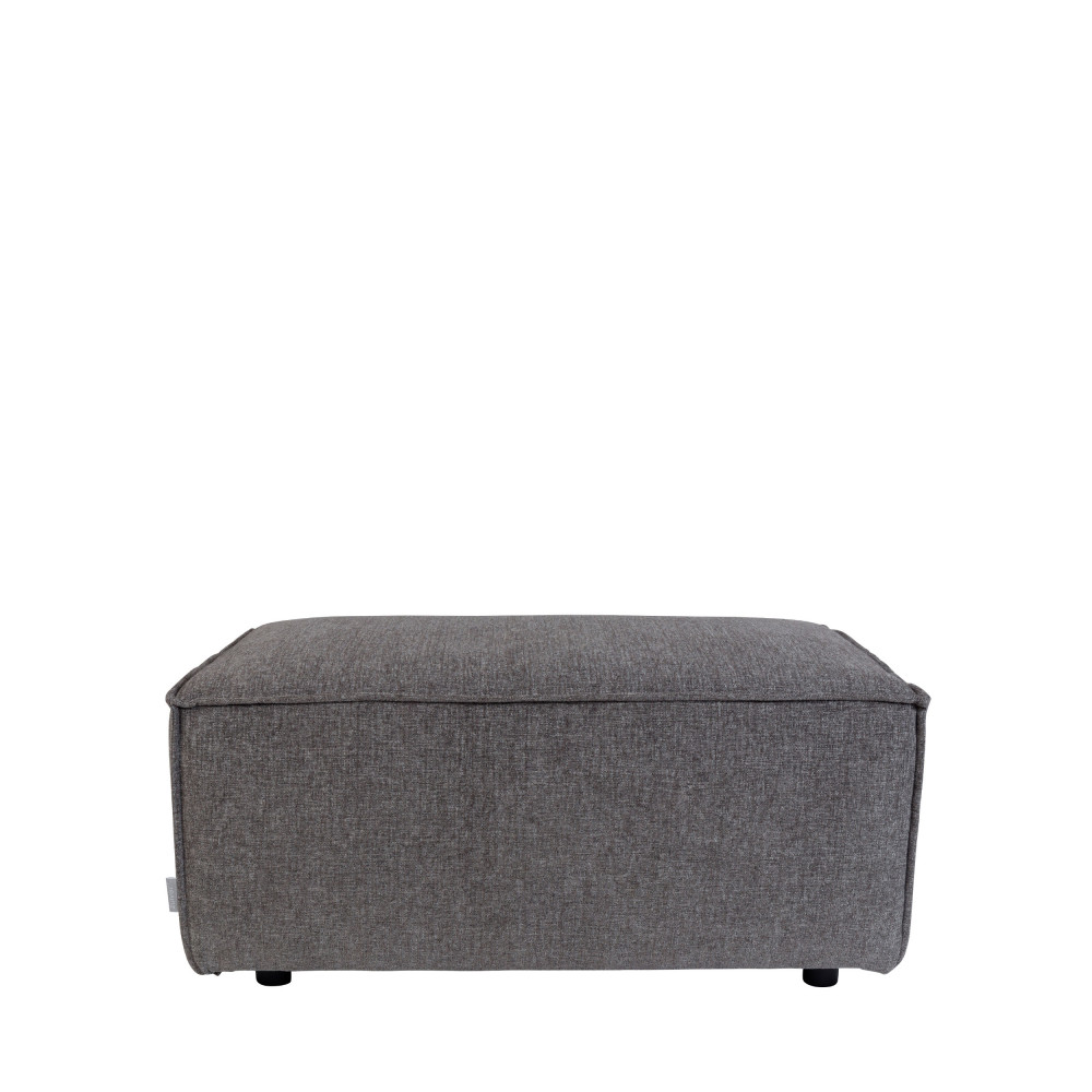 Pouf rectangulaire en tissu King Zuiver by Drawer