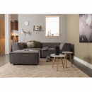 Pouf rectangulaire tissu King Zuiver