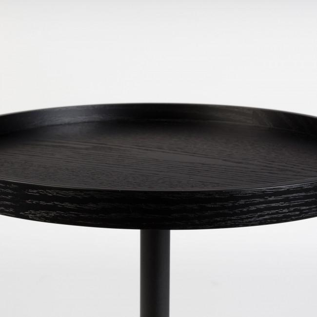 Plateau bois table d'appoint ronde 46cm Jason Zuiver