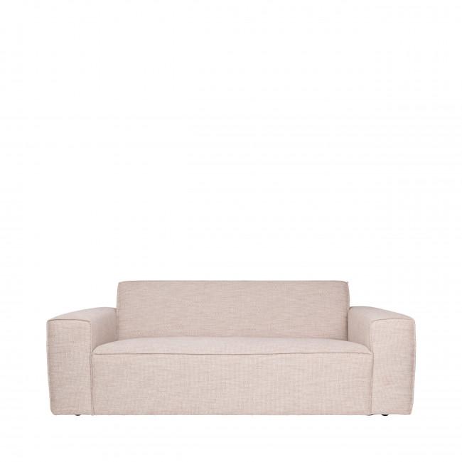 Canapé 2,5 places tissu Bor Zuiver Beige