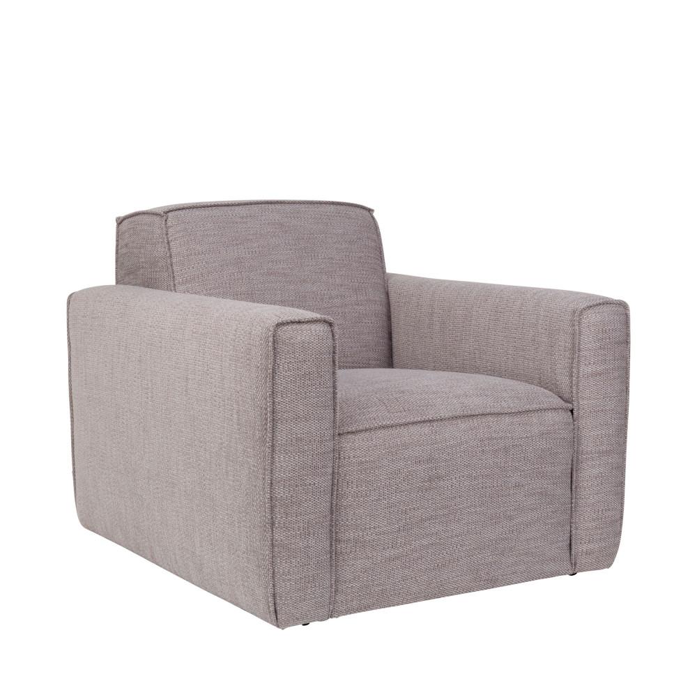 fauteuil design en tissu bor zuiver by drawer. Black Bedroom Furniture Sets. Home Design Ideas