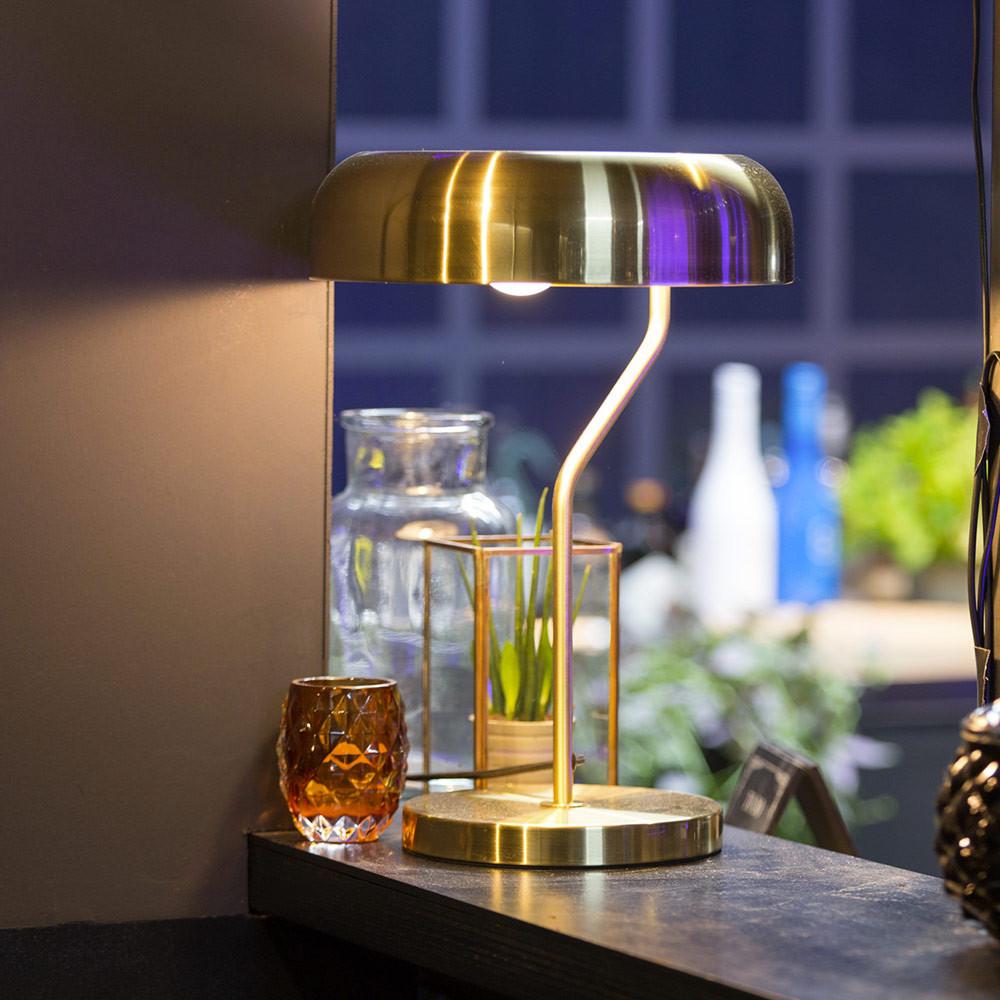 Lampe poser design m tal finitions dor es eclipse - Lampes design a poser ...