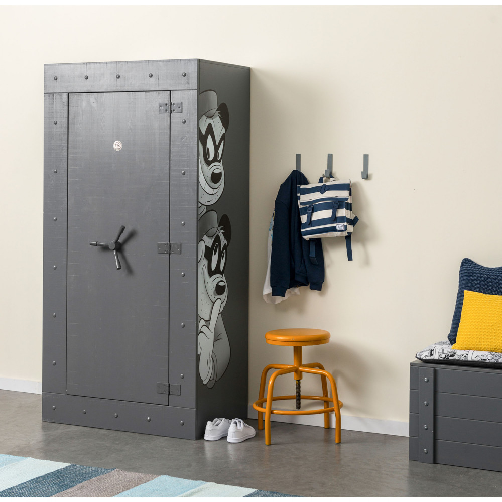 armoire enfant pin massif donald duck drawer. Black Bedroom Furniture Sets. Home Design Ideas