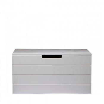 table basse coffre en bois avec roulettes vt army by drawer. Black Bedroom Furniture Sets. Home Design Ideas