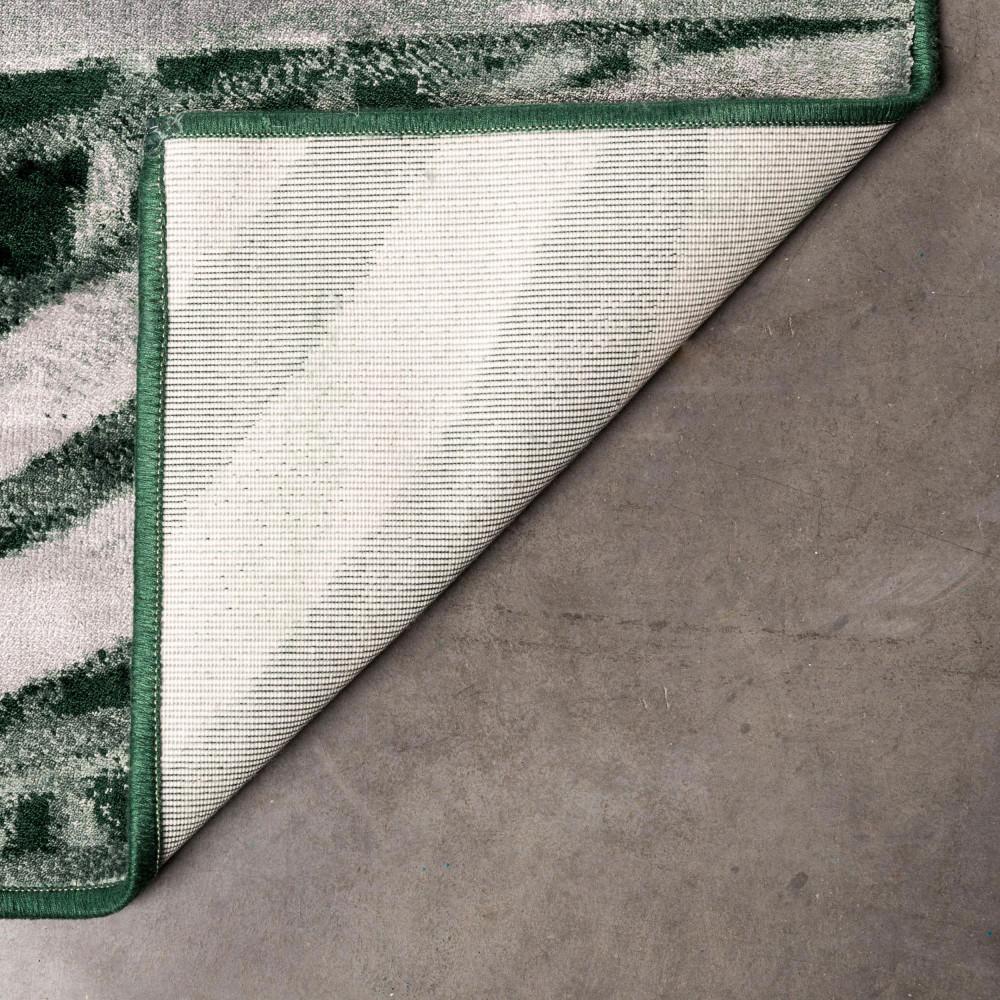 Tapis motif palmier vert palm by day zuiver by drawer - Lyon tapis vert ...
