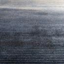 Tapis imprimé bleu Obi Zuiver