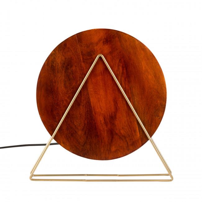 Lampe à poser design Louis Zuiver Bois