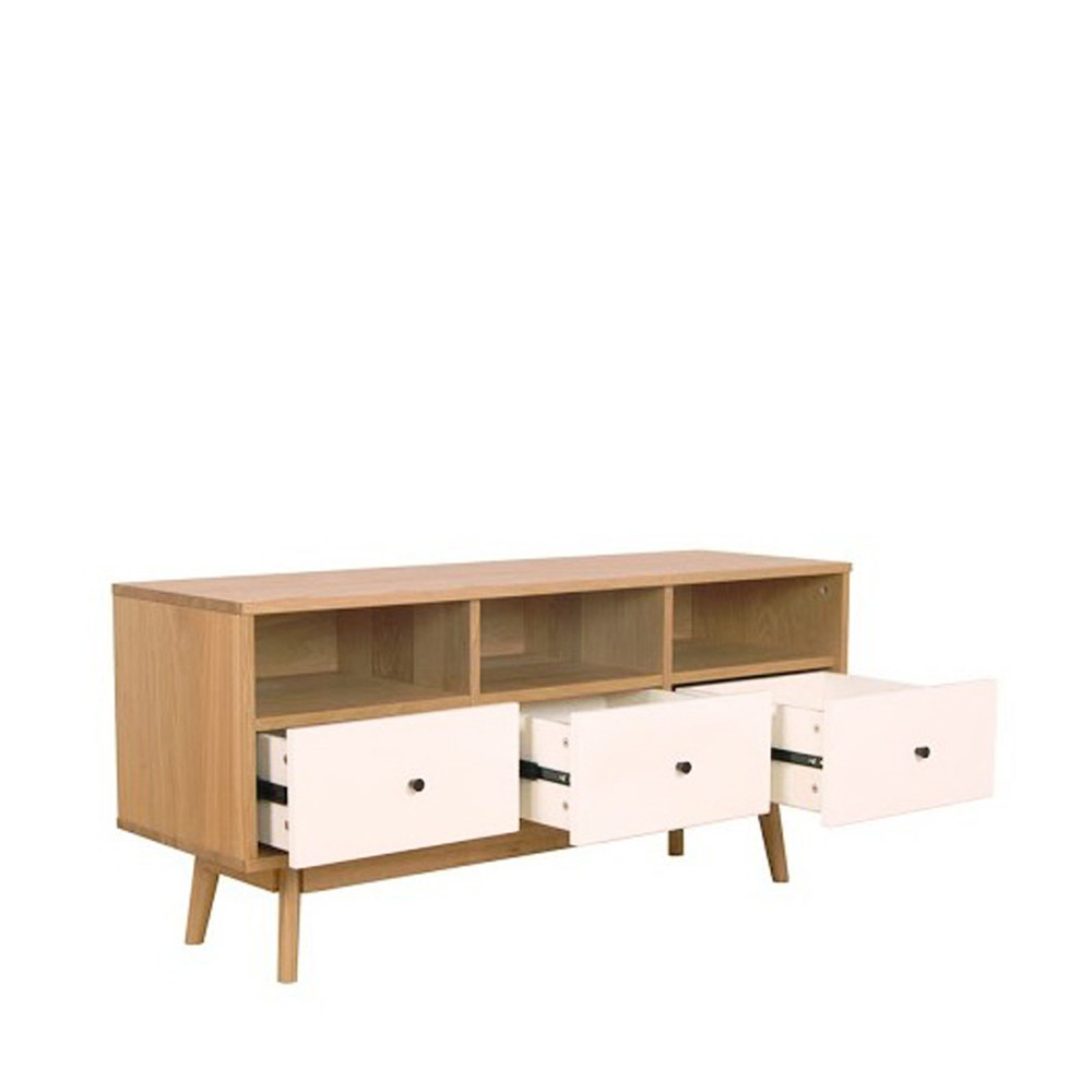 Meuble tv scandinave skoll by drawer for Architecture scandinave