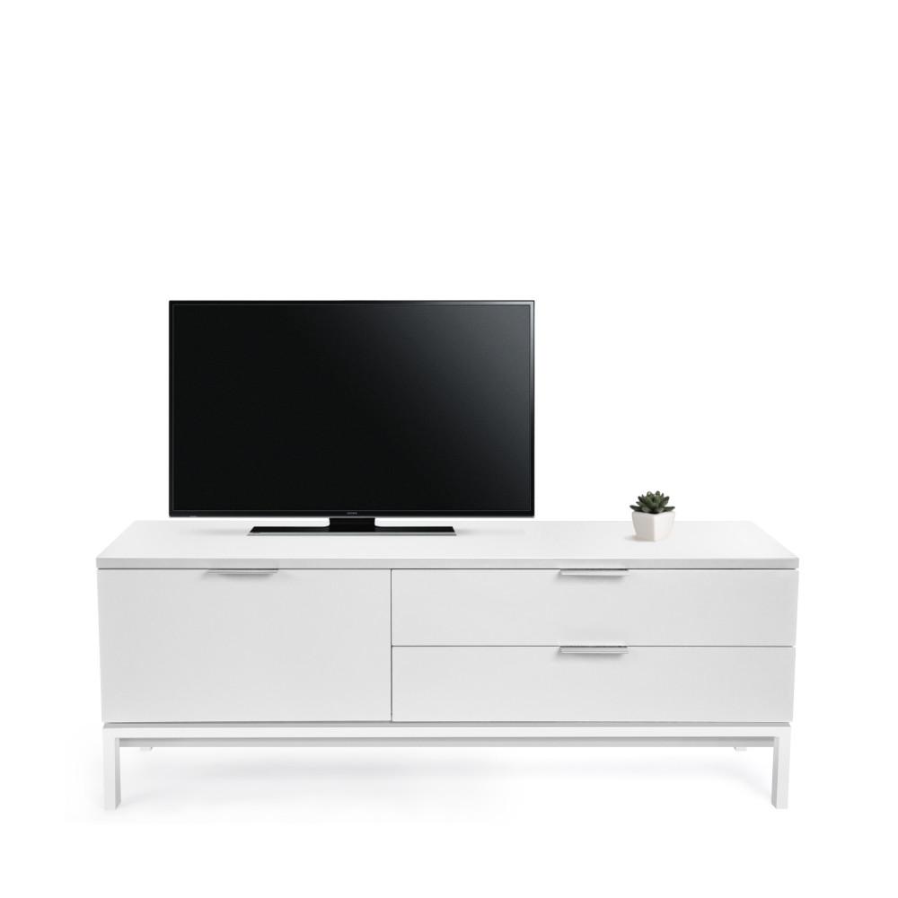 meuble tv laqu design adrian. Black Bedroom Furniture Sets. Home Design Ideas