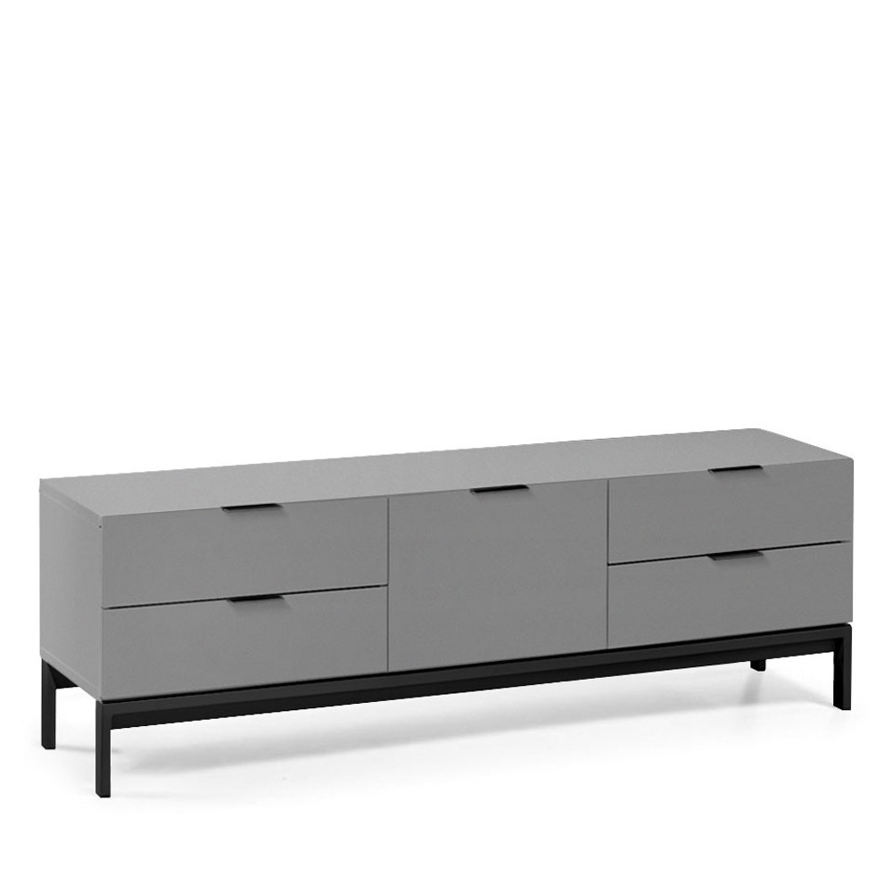 buffet laqu design adrian by drawer. Black Bedroom Furniture Sets. Home Design Ideas