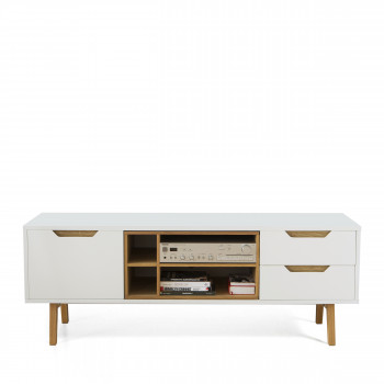 meuble tv design scandinave ou vintage drawer. Black Bedroom Furniture Sets. Home Design Ideas