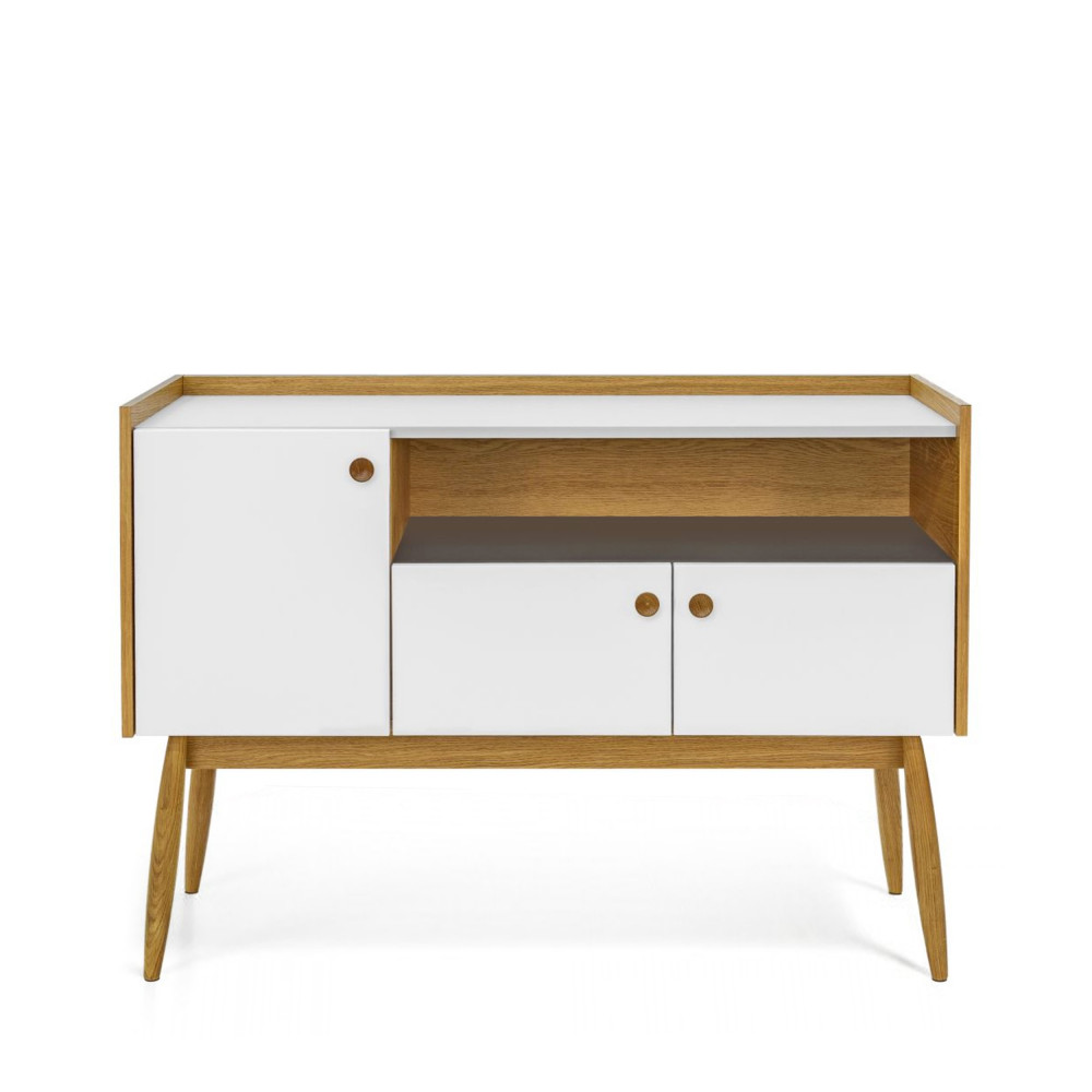 Buffet design bois 3 portes Farsta by Drawer # Buffet Design Bois