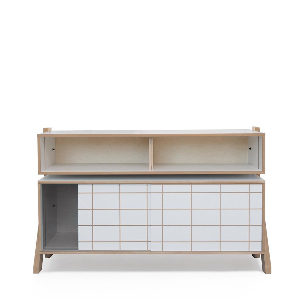 Buffet design en bois rframe de rform made in belgium for Buffet design
