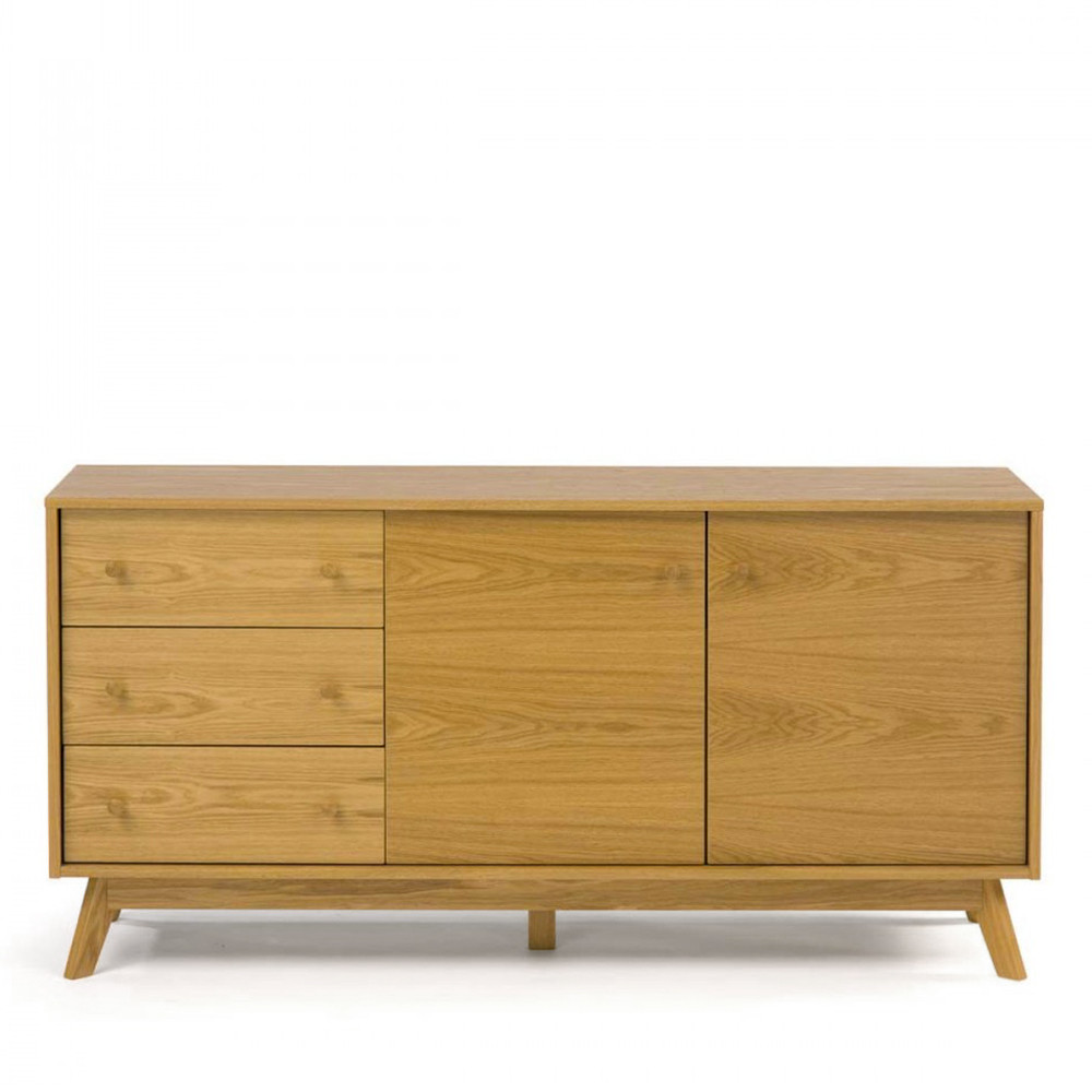 buffet design et pratique bois kensal. Black Bedroom Furniture Sets. Home Design Ideas