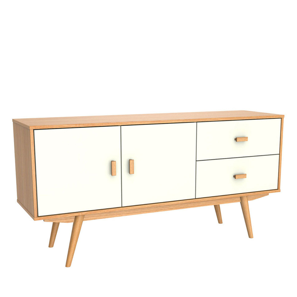 buffet design 2 portes 2 tiroirs maguro by drawer. Black Bedroom Furniture Sets. Home Design Ideas