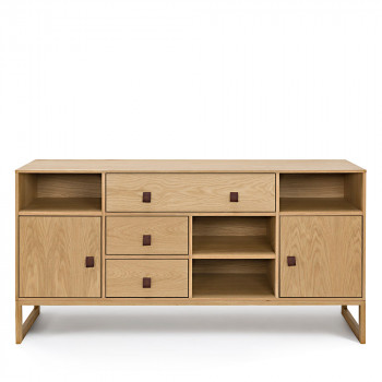 Buffet design bahut vintage et contemporain drawer - Buffet bois contemporain ...