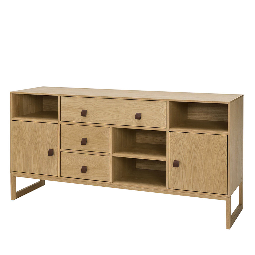 buffet contemporain bois 3 tiroirs slussen by drawer. Black Bedroom Furniture Sets. Home Design Ideas