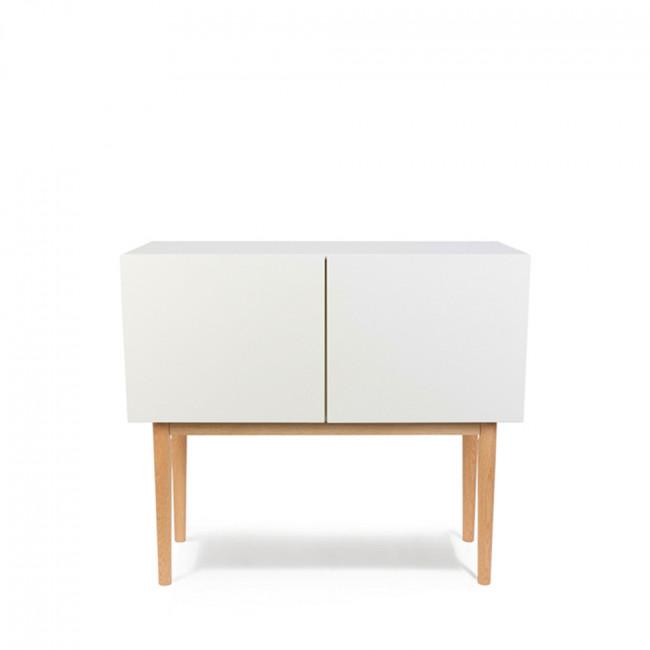 buffet 2 portes high wood design scandinave zuiver. Black Bedroom Furniture Sets. Home Design Ideas