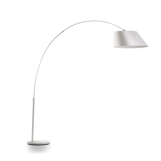 Lampadaire Arc blanc