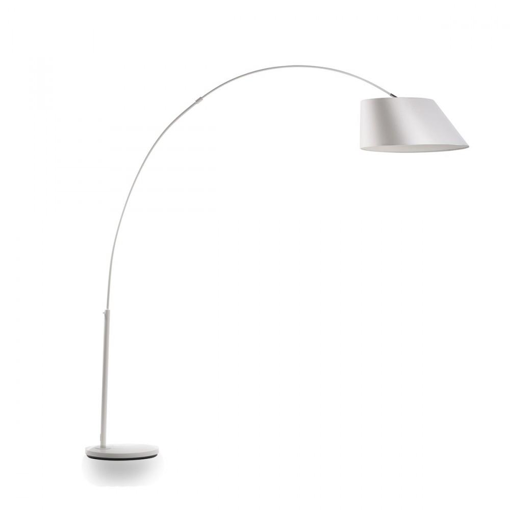Lampadaire arc design pour salon zuiver - Lampadaire design interieur ...