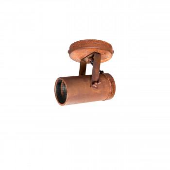Applique/plafonnier industriel  Scope Dutchbone Marron