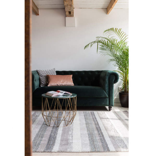 Tapis tissé main gris Arizona Dutchbone