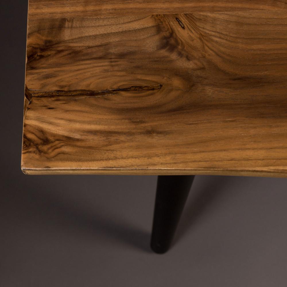 banc design en bois de noyer 140cm alagon dutchbone drawer. Black Bedroom Furniture Sets. Home Design Ideas