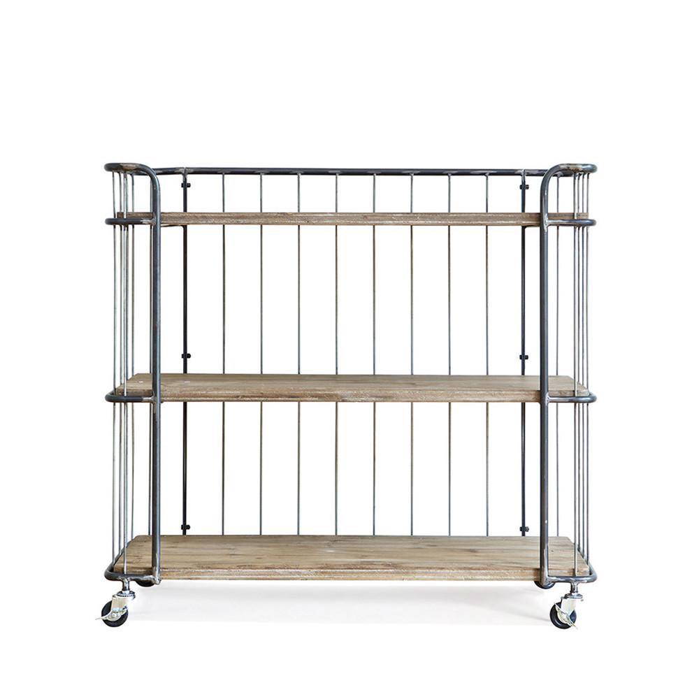 chariot de rangement m tal medium rack par. Black Bedroom Furniture Sets. Home Design Ideas