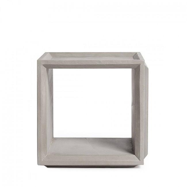 Module de rangement cube béton Plus S