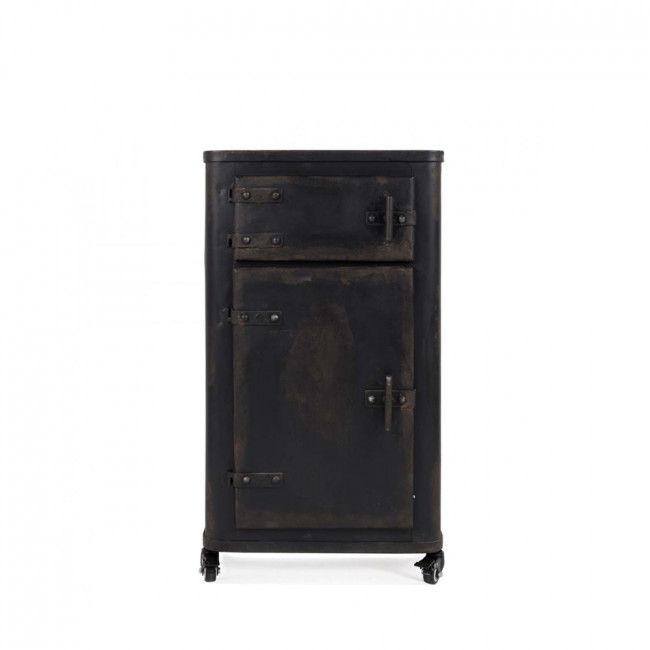 meuble de rangement m tal indu brooke par. Black Bedroom Furniture Sets. Home Design Ideas