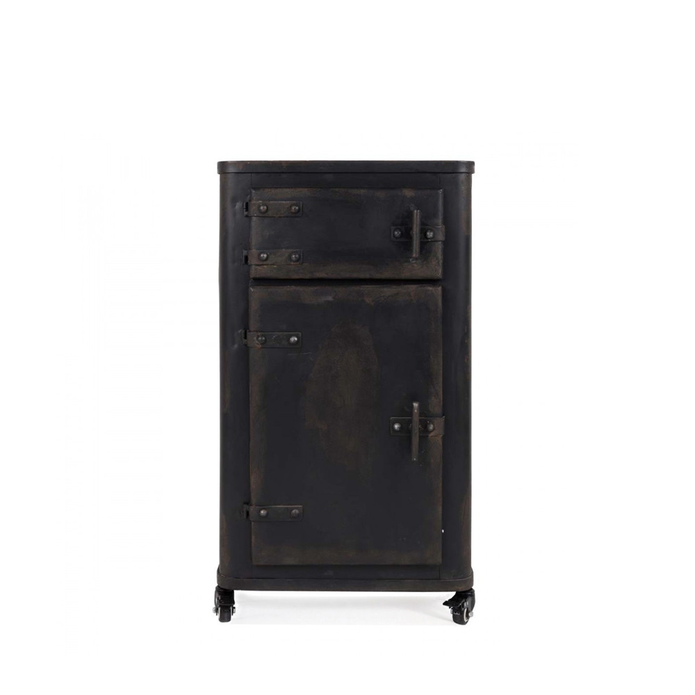 meuble de rangement m tal indu brooke par. Black Bedroom Furniture Sets. Home Design Ideas