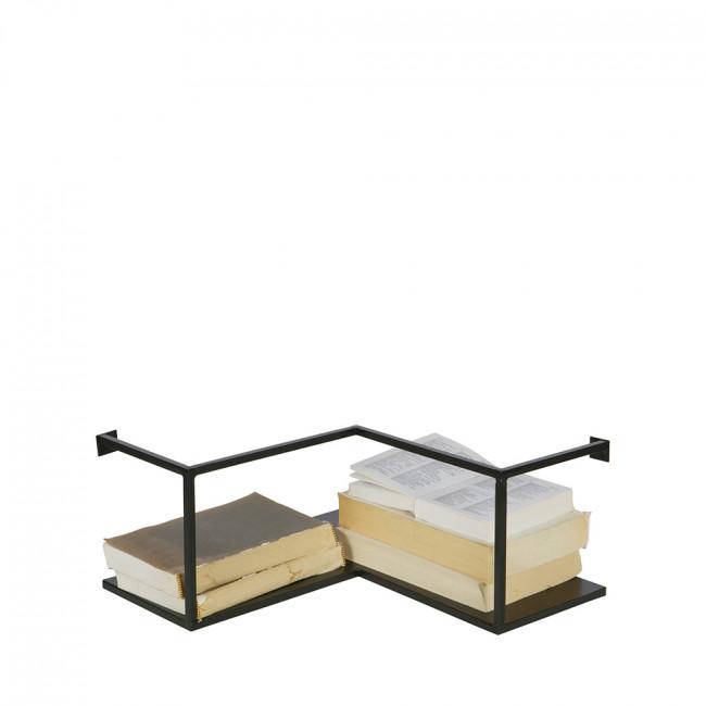 etag re d 39 angle design industriel m tal noir meert by drawer. Black Bedroom Furniture Sets. Home Design Ideas