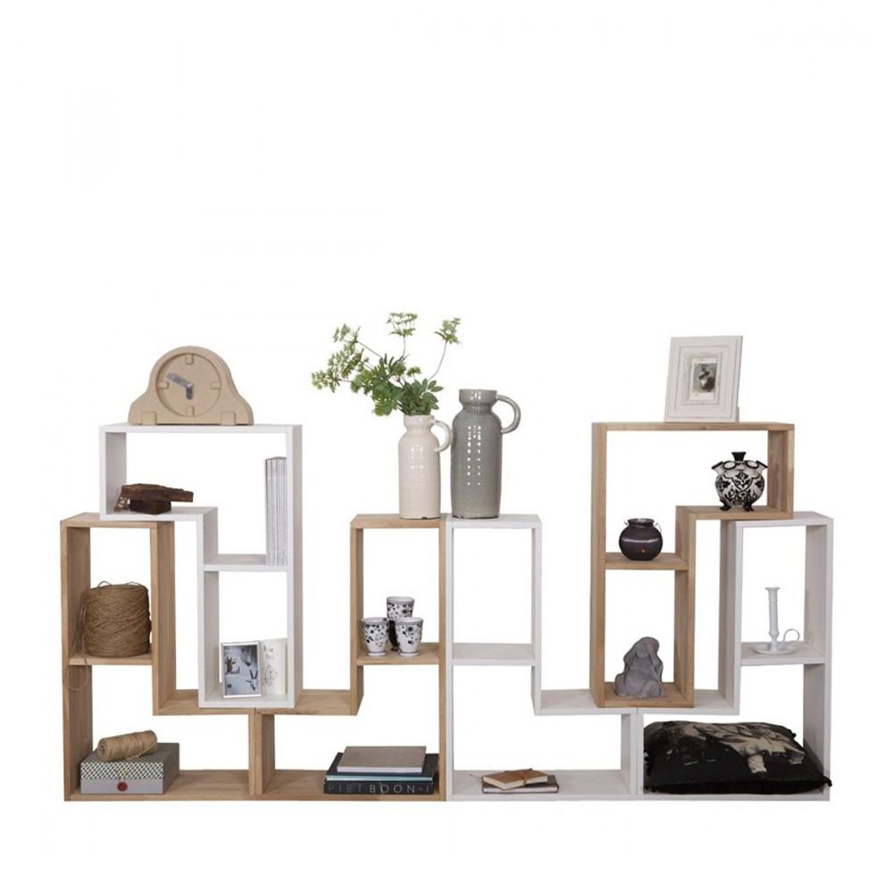 Rangement design modulaire en bois massif Filippus par Drawer.fr