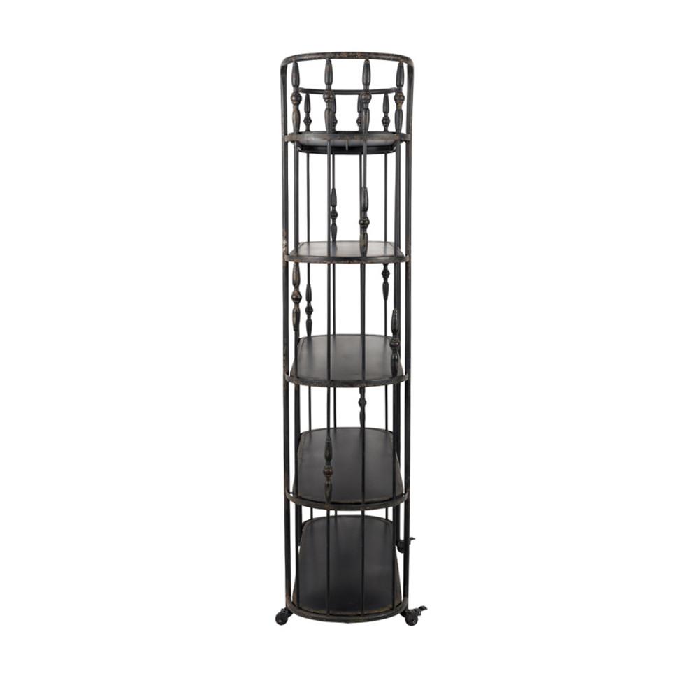 etag re m tal noir roulettes blos by drawer. Black Bedroom Furniture Sets. Home Design Ideas