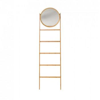 Miroir échelle en bambou H170 Bloomingville