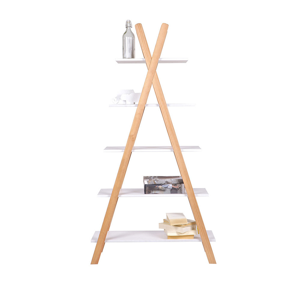 Etagère enfant pin massif blanc Tipi by Drawer