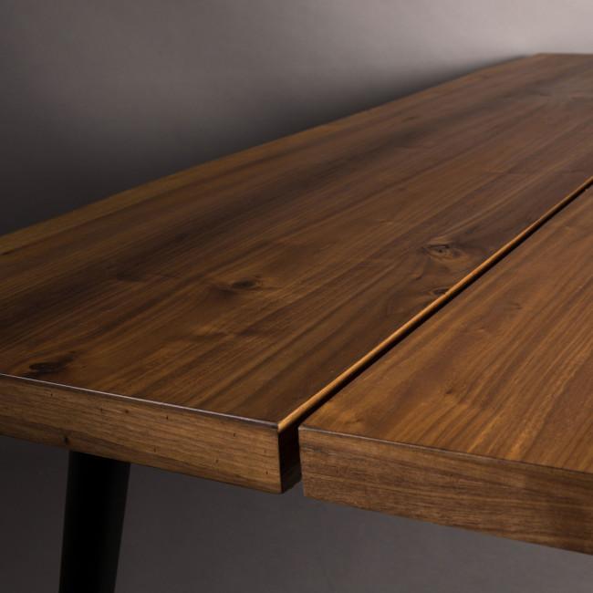 Table à manger en noyer 220x90cm Alagon Dutchbone
