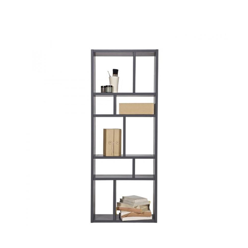 biblioth que murale horizontale avec 10 compartiments. Black Bedroom Furniture Sets. Home Design Ideas