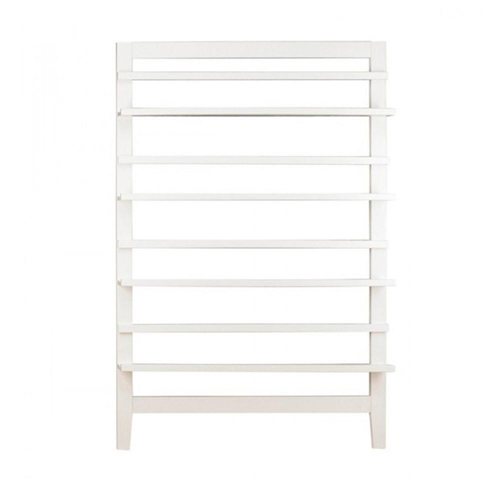 biblioth que blanche annelien par. Black Bedroom Furniture Sets. Home Design Ideas