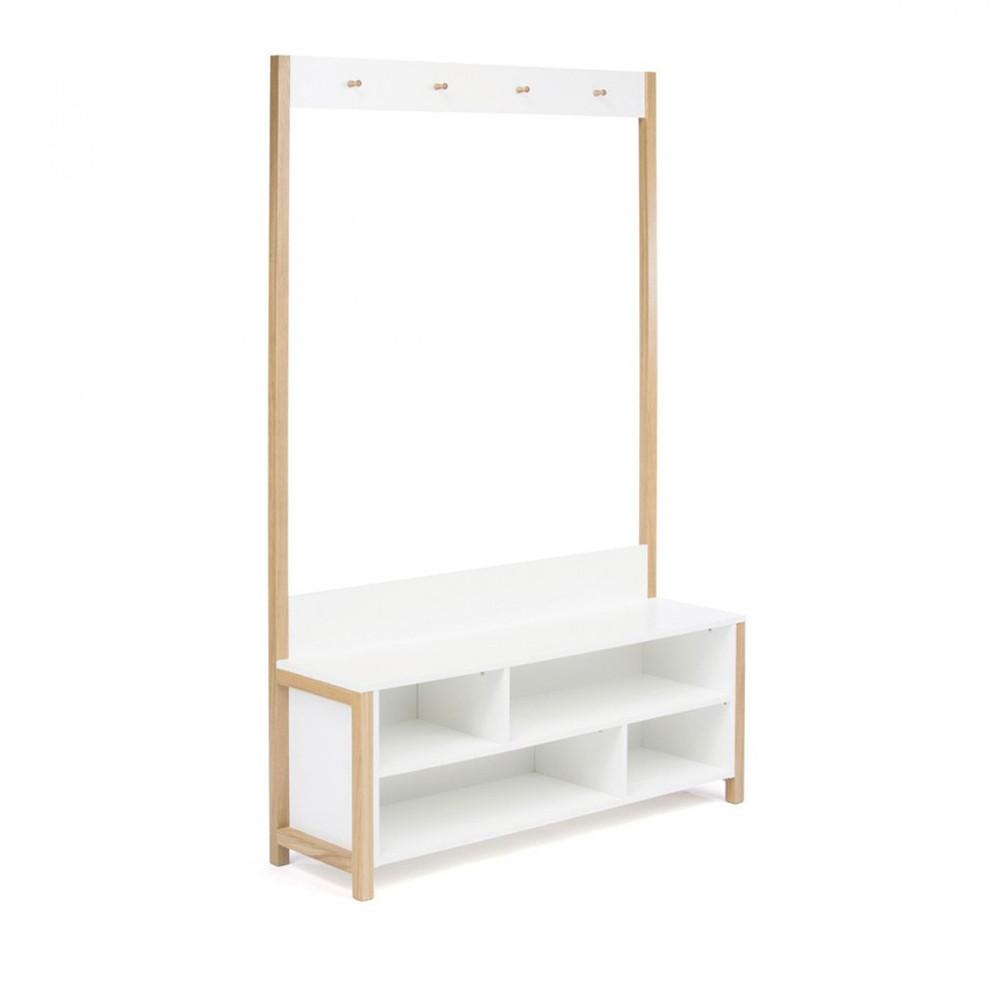porte manteau bois blanc 28 images meuble 224. Black Bedroom Furniture Sets. Home Design Ideas